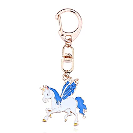 Doitsa Llavero Animal, Unicornio Volador, Moda de Metal ...