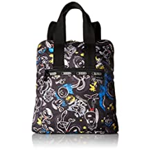 LeSportsac 8240 G057 Everyday Backpack, Chalkboard Snoopy, One Size