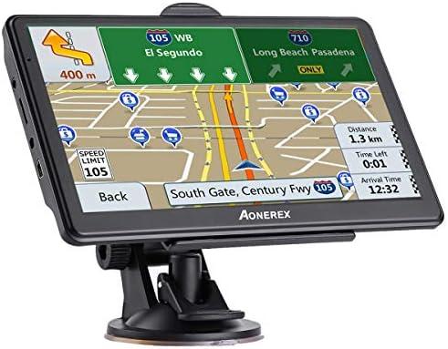 7 pulgadas de pantalla táctil de navegación GPS para Coche Camión con 7 pulgadas SAT NAV Navegador por satélite
