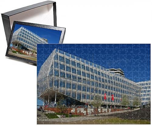 Photo Jigsaw Puzzle of Unilever House, HafenCity, Hamburg, Germany, Europe