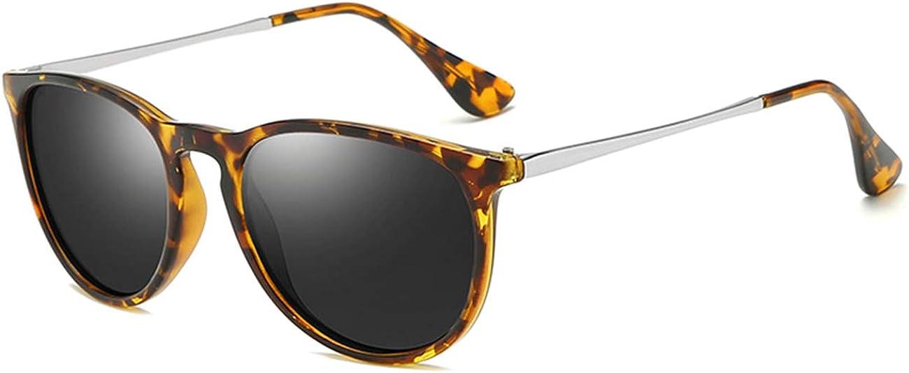 MAXJULI Polarized Sunglasses for Women Classic Round UV Protection Sun Glasses 8071