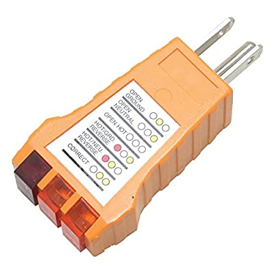 Pro'sKit 400-029 Receptacle Tester, Standard Outlets