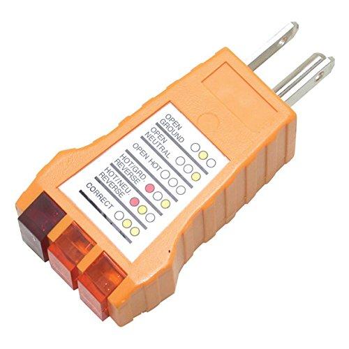 Pro'sKit 400-029 Receptacle Tester, Standard (Receptacle Tester)
