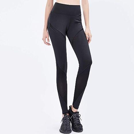 d6011df6bf90 GX Leggins da Donna Allenamento Opaco Yoga Palestra Pantaloni - Moda  Fitness Jogging Capri Leggings per