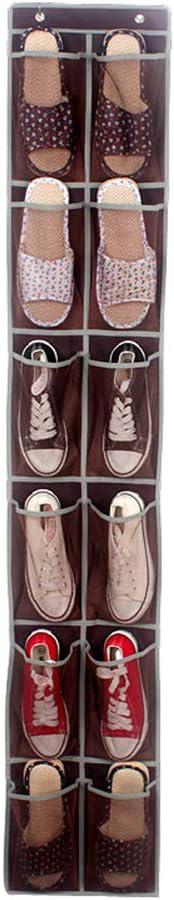 168cm Blanc 30 Daliuing 12/Poche /à Suspendre Sac de Rangement Respirant Pliable Lavable Porte Murale de Rangement Organiseur Pochette de Rangement pour Chaussures V/êtements