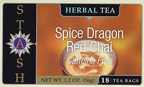 Stash Tea Tea Decaf Chai Red Spice, 18 bags (2 Pack)
