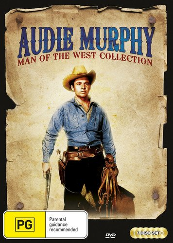 Audie Murphy: Man Of The West DVD Collection