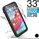 Catalyst iPhone Xs Waterproof Case with Lanyard, Shock Proof Drop Proof Military Grade Quality for Hiking, Swimming, Adventure, Beach, Kayaking, for iPhone Xs ONLY - Retail Packaging - Stealth Black