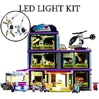 DIY LED Light Kit Lighting Set for (Girl Heart Lake City Hospital) Building Blocks Model,Compatible with Lego 41318,Ideal Birthday Gift(ONLY Light Kit)