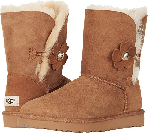UGG Women's Bailey Button Poppy Boot, chestnut, 7 M for sale  Delivered anywhere in USA