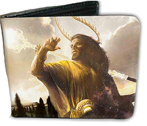 Magic Gathering Bi Fold Wallet Mystical