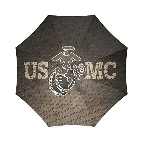 Christmas/Thanksgiving Gifts USMC United States Marine Corps Marines Semper Fi Anti Rain Windproof Travel Golf Sports Foldable Umbrella by USMC Umbrella