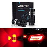 2008 dodge avenger 3 brake light - AUXITO Brilliant Red 3157 LED Bulbs Extremely Bright 48-SMD 4014 LED Chipsets 3156 3057 4057 4157 LED Bulbs with Projector for Brake Lights (Pack of 2)