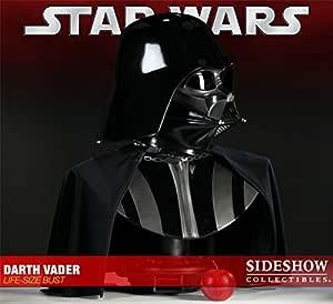 Figura Estatua Busto Star Wars Darth Vader escala real