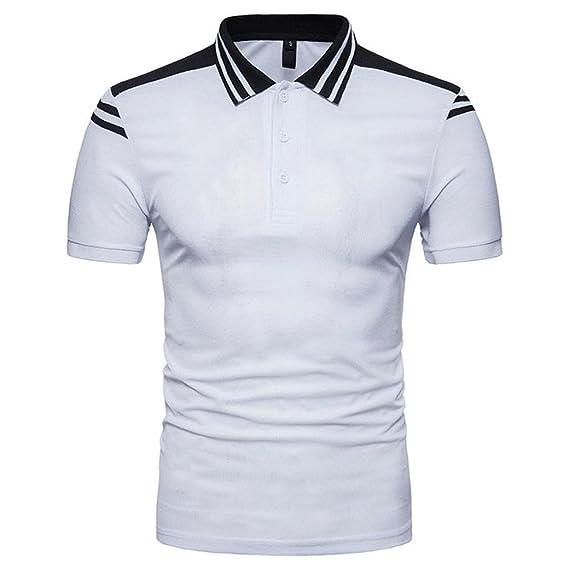 ❤Venmo Polos Hombre,Camisetas Hombre Originales Verano,Pullover Camiseta de Manga Corta Hombre