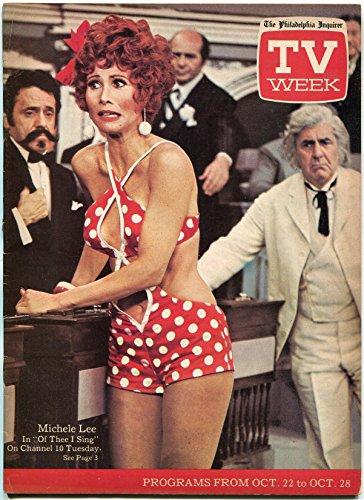 (Philadelphia Inquirer TV Week Magazine October 1972- Michele Lee- Mike)
