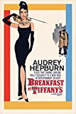 Pyramid America Audrey Hepburn-Breakfast at Tiffany's One Sheet, Movie Poster Print, 24 by 36-Inch