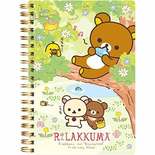 Rilakkuma, Korilakkuma Note book ( B6 Size ) Tree climbing NY99701 San-X by Rilakkuma