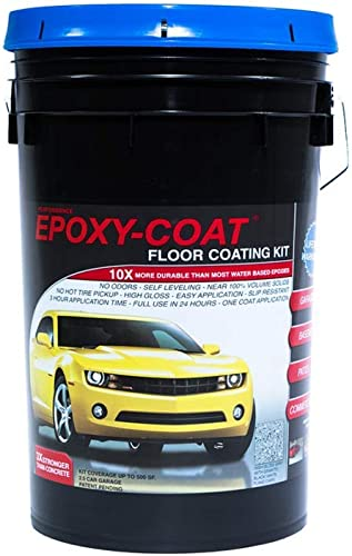 Epoxy-Coat Concrete Floor Coating Clear Coat