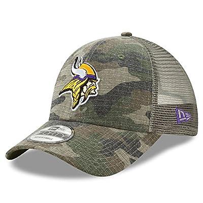 Minnesota Vikings Camo Trucker Duel New Era 9FORTY Adjustable Snapback Hat / Cap by New Era