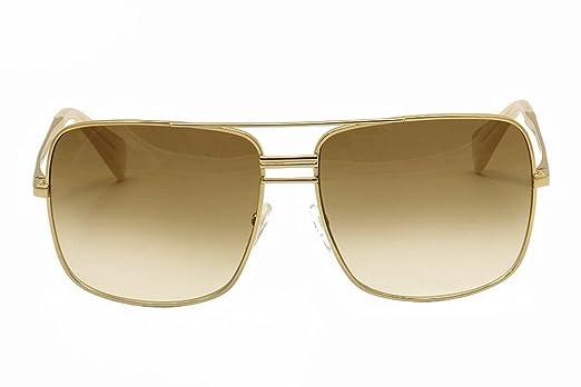 5e36f8ede5 Celine Women s 41808S 41808 S J5G XY Gold Smoke Flash Silver Lenses  Sunglasses  Amazon.co.uk  Clothing