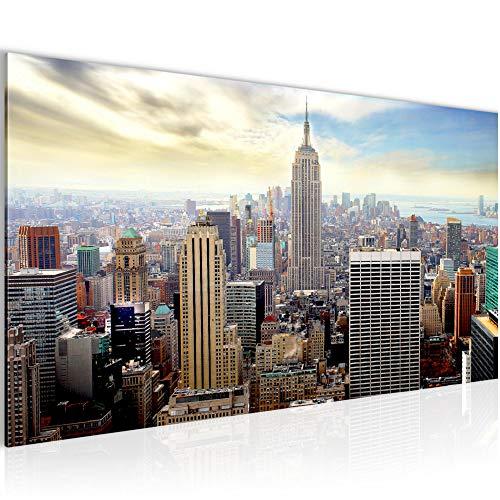 Amazon.de: Bilder New York City Wandbild Vlies - Leinwand Bild XXL ...
