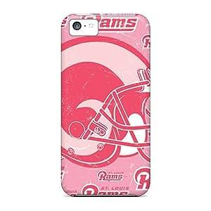 [NifUJyq7019MiVUQ]premium Phone Case For Iphone 5c/ St. Louis Rams Tpu Case Cover