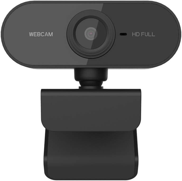 Spiele und Konferenzen Live-Streaming USB Full HD 1080P Webcam mit ger/äuschunterdr/ückendem Mikrofon PC Laptop Desktop Webkamera mit 360 /° drehbarem Base Plug /& Play f/ür Videoanrufe Dewanxin Webcam