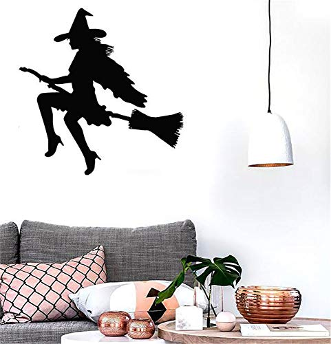 Bluegiants Wall Sticker Lettering Quotes and Saying Witch Halloween Magic for Nursery -