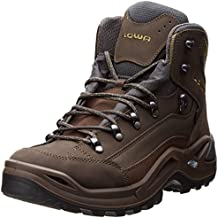 Lowa Men's Renegade GTX Mid Hiking Boot,Slate/Olive,9 M US