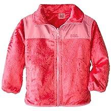 London Fog baby-girls Baby Baby-Girls Infant Reversible Fleece Jacket