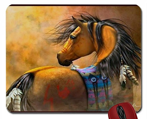 Native American Pony - Horse F mouse pad computer ...
