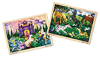 Melissa & Doug Fairy Fantasy JigsawPuzzle 48 pc by Melissa & Doug
