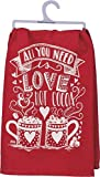 farmhouse kitchen ideas All You Need is Love & Hot Cocoa Towel - Kitchen Hand Towel - Cute Decoration for Winter & Christmas - Gift Idea