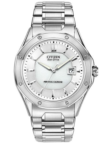 Citizen Men's Eco-Drive Signature Perpetual Calendar Watch with Date, BL1270-58E