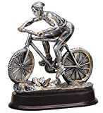 The Trophy Studio Mountain Cycling 9 1/2''tall