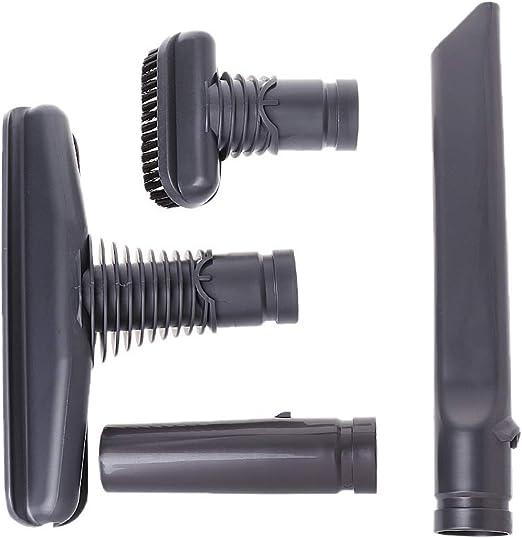 congchuaty Kit de Cabezales de cepillos para aspiradoras Aspiradora de 4 Piezas Herramienta de fijación para Dyson: Amazon.es: Hogar