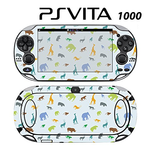 Skin Decal Cover Sticker for Sony PlayStation PS Vita (PCH-1000) - Boy's Animal Zoo -  Decals Plus, PV1-PA05