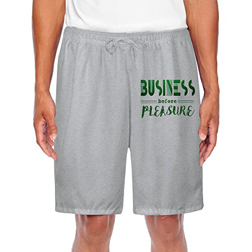 Personalize Men's Workout Short Pants Business Before Pleasure For Casual Fitness