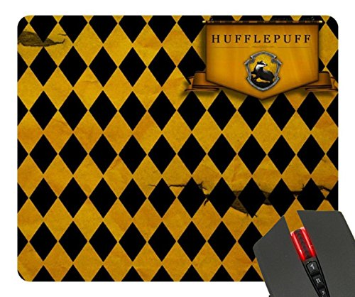 Hufflepuff Harry Potter Custom Design Cool Gaming Mousepd Mouse Pad Mat