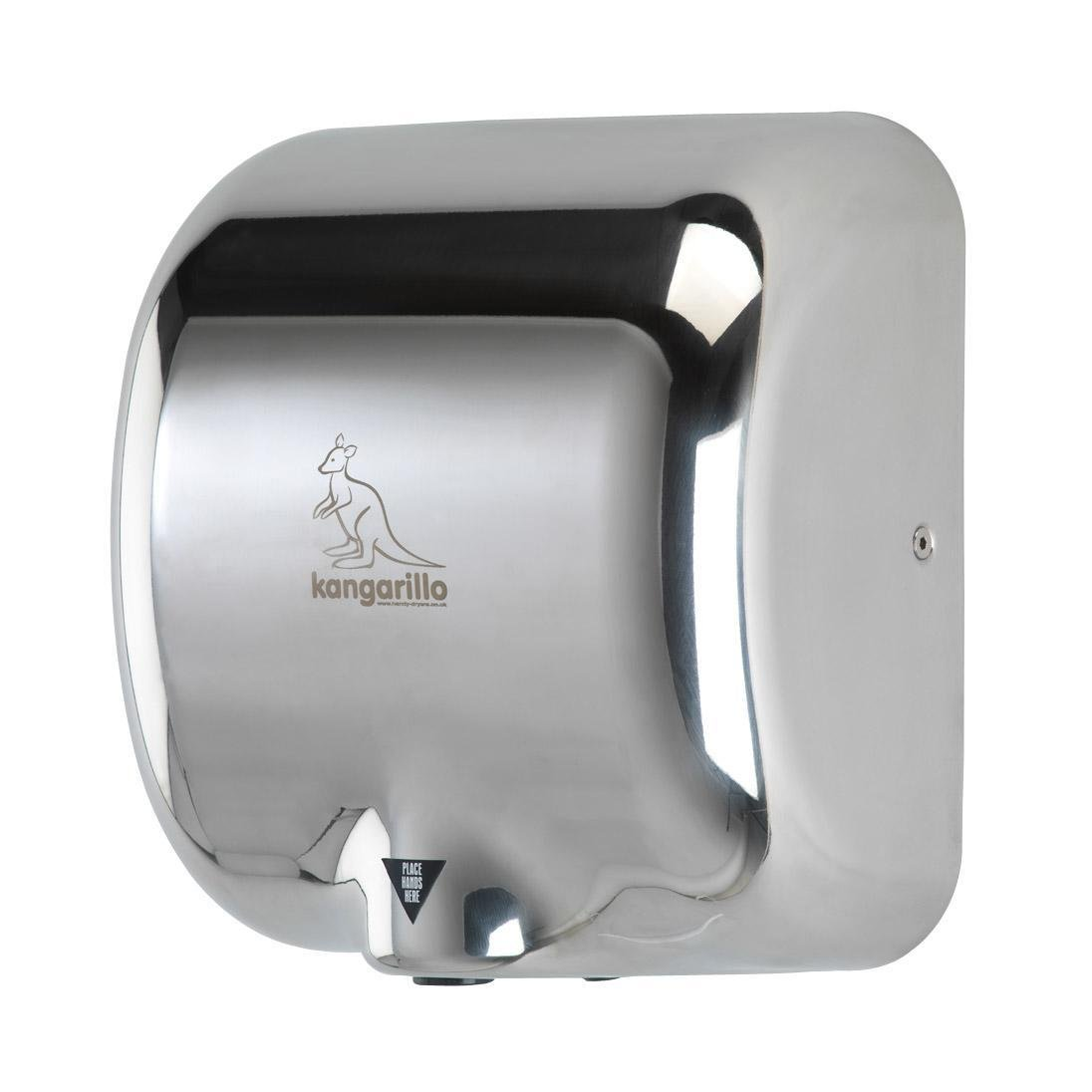 Handy Dryers Kangarillo Hand Dryer, Silver HandyDryers 5060405130004