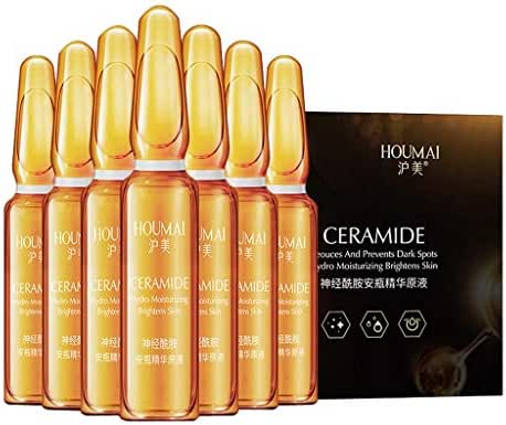 Dark Spots Corrective Ampule,D-XinXin Moisturizing Facial Serum,Firming Brighten Serum,Hyaluronic Acid Small Ampoules for Dark Spots,Wrinkles and Discolorations (B)