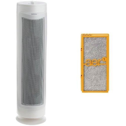 Holmes True HEPA 3 Speed Tower Allergen Remover with Smoke Grabber (Odor Grabber Air)