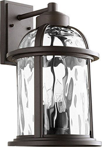Quorum International 7760-4-86 Winston 4 Light 18 inch Oiled Bronze Outdoor Wall Lantern