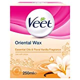 veet warm wax - Veet Oriental Wax Essential Oils & Floral Vanilla Fragrance 250Ml