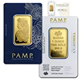 PAMP Suisse 1 oz. Gold bar w/Assay