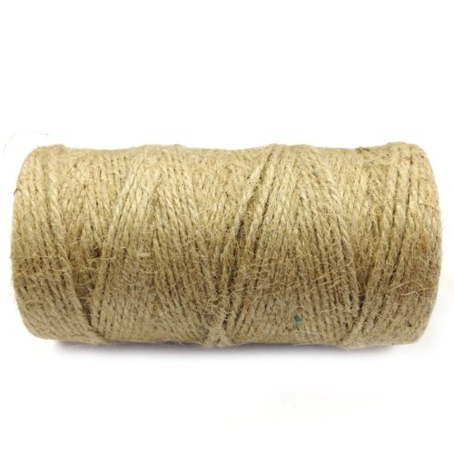 Wrapables All Natural Jute Twine 12ply 110 Yard