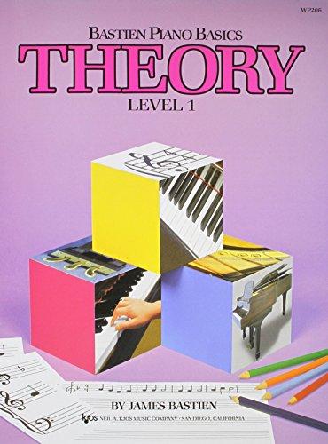 WP206 - Bastien Piano Basics - Theory Level 1 (Bastien Piano Level One Theory)
