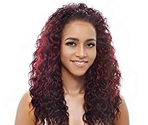 Janet Collection New Easy Quick AGATHA Half Wig (1 - Jet Black)