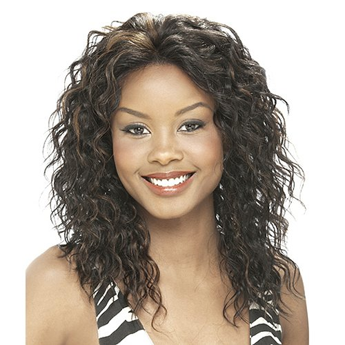 IT'S A WIG Human Lace Front Wig AMBER - Color#4/27 - Light Brown / Blond (Amber Wig)
